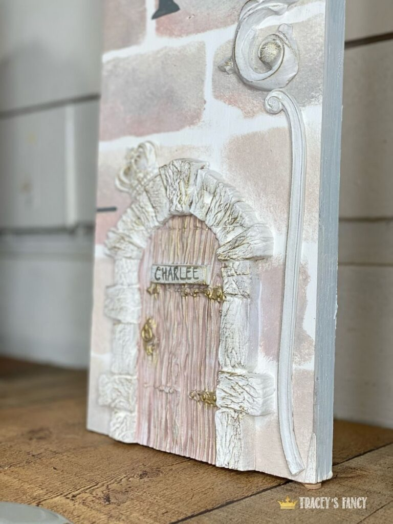 castle growth chart fit for a princess by Tracey's Fancy