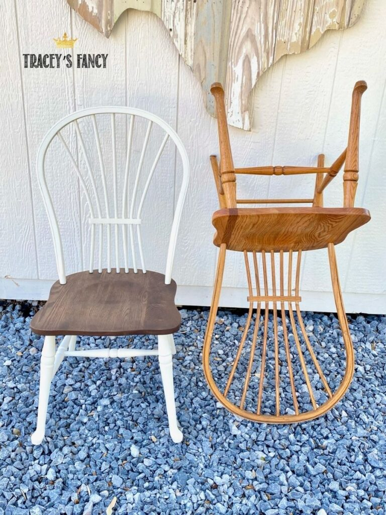 farmhouse kitchen chairs | Tracey's Fancy